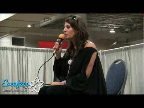 Nicole Oliver panel  ANIMATE! Miami 2013