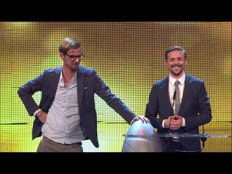 Joko und Klaas: Seltsame Laudatio - Der Deutsche Comedy Preis