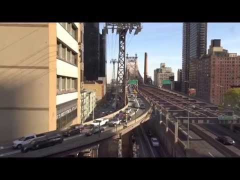 NYC 2015 - Cable car to Roosevelt Island