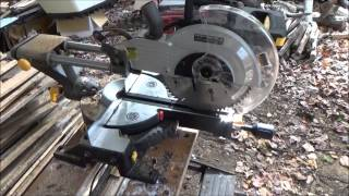 Cutting Firewood With A Miter Saw O18