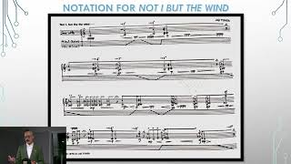 Greg Bruce - Lecture, The Analogue Electroacoustic Saxophone: Research-Creation in a Nascent Medium