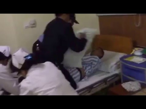 Nurses and security abuse patients in a psychiatric hospital