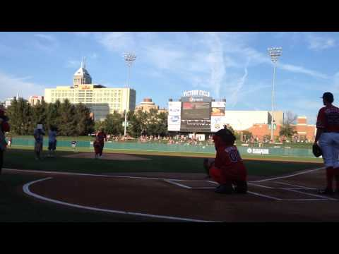 Ceremonial First Pitch - Third Annual Civil Rights Game