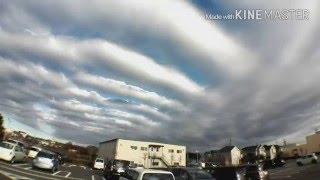 熊本地震の前兆だったのか 気持ち悪い···地震雲 こんな雲初めて見た 地震雲 検索動画 13