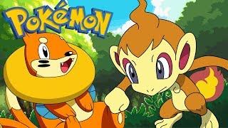 PORZUCONY CHIMCHAR - Pokemon Fire Ash #50