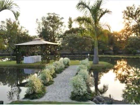Tu boda en el jardin los naranjos youtube for Bodas sencillas en jardin