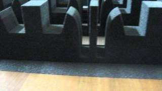 видео Обработка пенопласта и полиуретана посредством фрезерного станка с ЧПУ