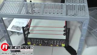 Wwe The Cell Wrestling Ring By Mattel Toy Wrestling Action Figure Playset Hell In A Cell
