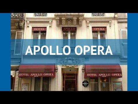 APOLLO OPERA 3* Франция Париж обзор – отель АПОЛЛО ОПЕРА 3* Париж видео обзор
