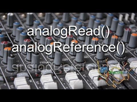 #13 Entradas analógicas en Arduino. analogRead() y analogReference()