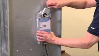 Installing a Siemens Damper Actuator