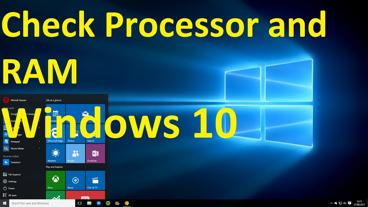 how to clear ram windows 10