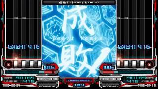 【BMS】DJ obelisk + mxk [Makina/Trance Core] 成敗! -Boost Remix- (HD)