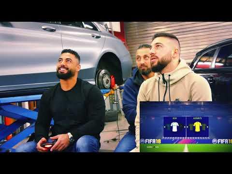 Mert bei den Prinzen | ★ AMK ★ sein Q7 wird foliert + Fifa match || Trailer