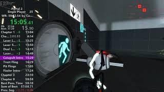 Portal 2 World Record Speedrun in 59:51.017