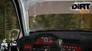 Dirt Rally с настоящей штурманшой на летающей BMW M3 E30  в Финляндии!