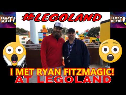 I MET RYAN FITZMAGIC! At #LEGOLAND #LIMABEANTV