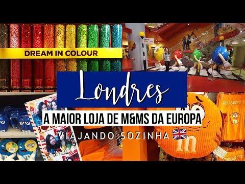 Diário de Viagem - M&Ms World London - Londres | Inglaterra - #MariNaEuropa2017