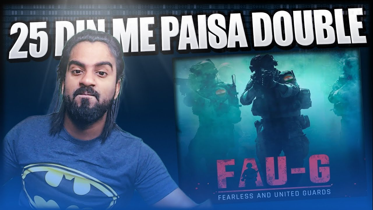 Download Indian Version of PUBG Mobile Fau-G    An Alternative of Pubg