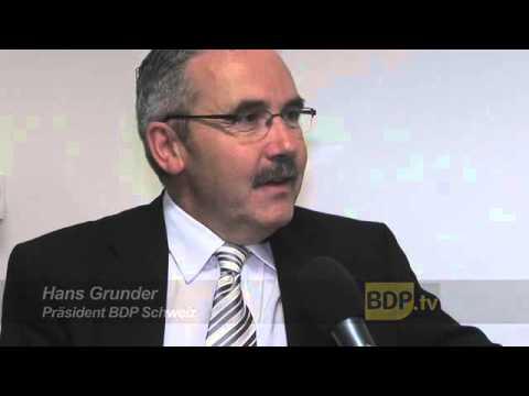 Hans Grunder zur Abstimmung Spezialfinanzierung Luftverkehr, 2009