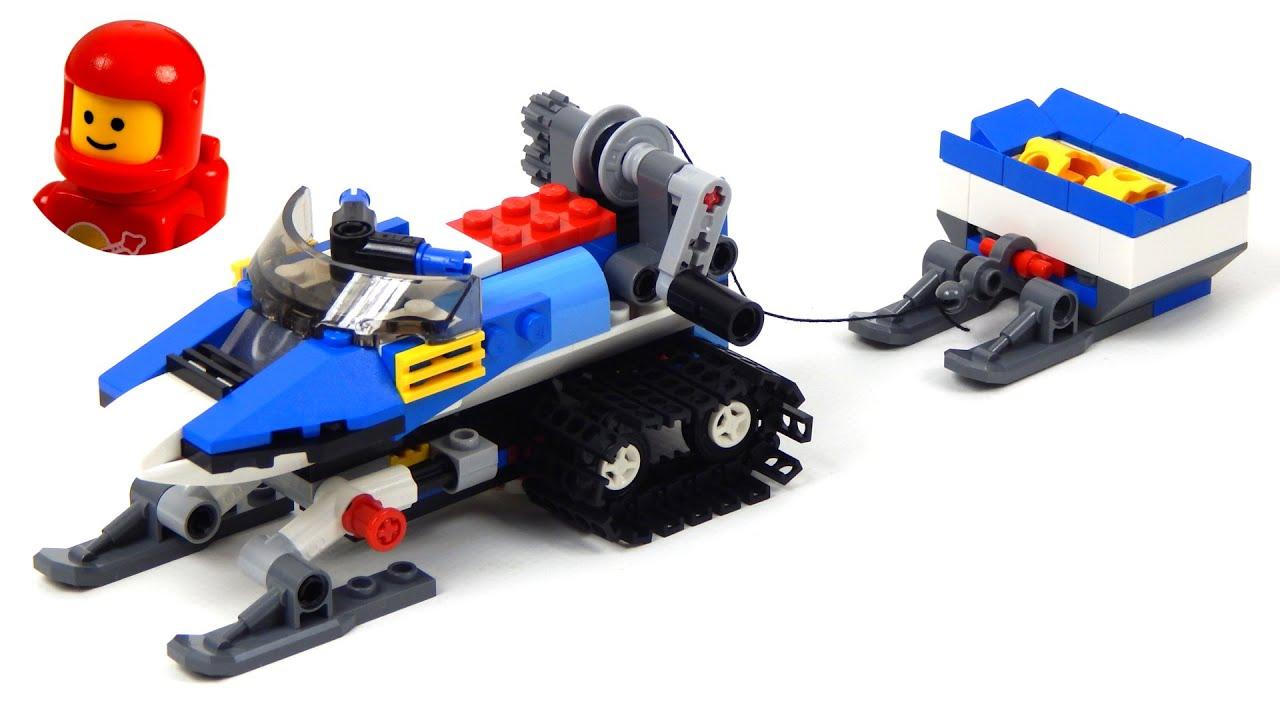 Lego Creator 31049 Model B - Snowmobile Lego Speed Build