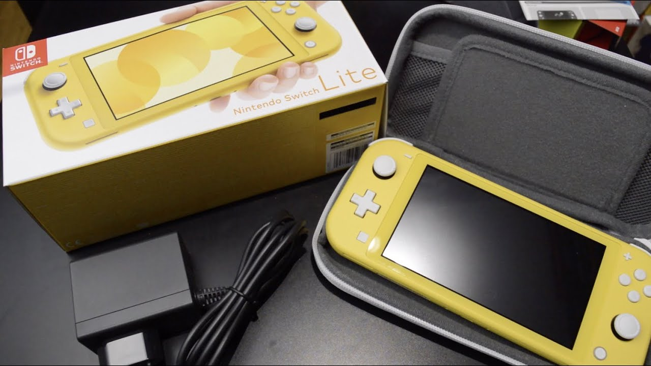 Unboxing Nintendo Switch Lite Carrying Case Youtube