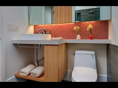 Ideias para decorar um banheiro pequeno youtube for Como decorar un antejardin pequeno