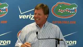 Florida Football: Weekly Press Conference 9-28-15