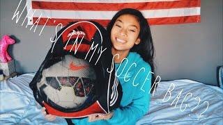 What's In My Soccer Bag? (UPDATED) | Tori Diaz