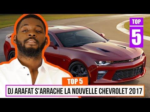 TOP 5 - DJ Arafat s'arrache la nouvelle Chevrolet SS 2017