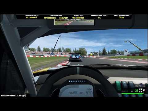 RaceRoom - BMW Z4 GT3 @ Nurburgring - Livestream Race