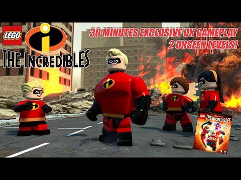 EXCLUSIVE LEGO Incredibles Game 2 Levels of Gameplay and Developer Interview