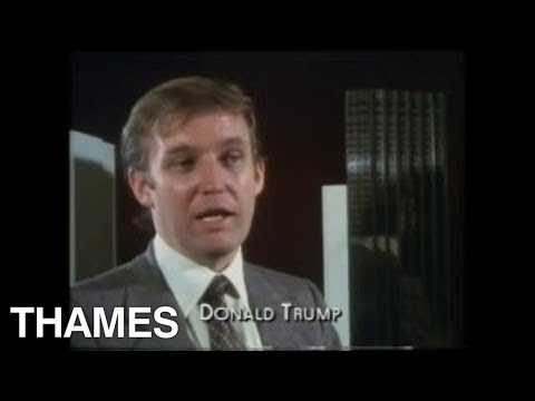 Donald Trump - New York - Reporting London 1982