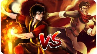 Зуко против Мако - Кто сильнее?Аватар:Легенда об Аанге/Корре