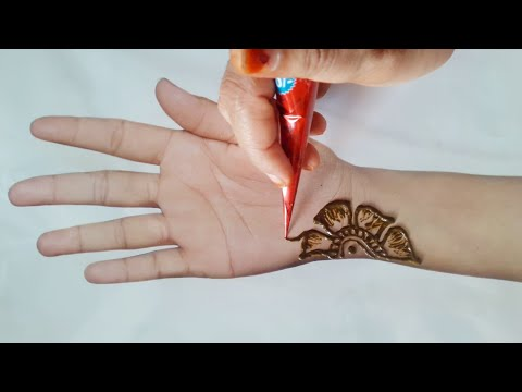 Eid Mehndi design/latest Arabic Mehndi design tutorial/rakhi special Mehndi design easy Mehndi desig thumbnail