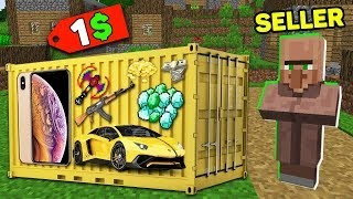 Minecraft NOOB vs PRO : NOOB BOUGHT THIS SUPER CONTAINER FOR 1$! Challenge IN MINECRAFT!