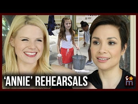 Inside ANNIE Rehearsals at the Hollywood Bowl w/ Megan Hilty & Lea Salonga