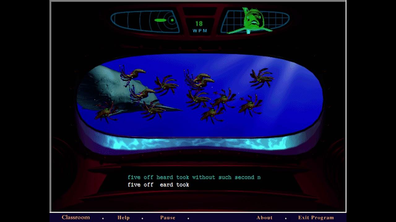 Submarine Game - Lose - Mavis Beacon Teaches Typing 5 - OPL3 - YouTube