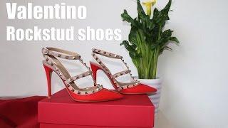 Туфли Valentino Rockstud ♡ Распаковка, обзор, примерка - Видео от Katrin from Berlin
