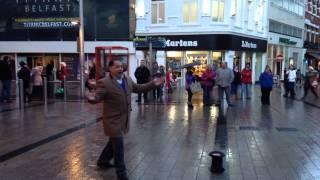 Romanian singer Belfast belting out Christmas classics : The Belfast Belter!