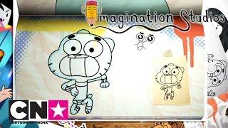Имаджинариум | Как нарисовать Гамбола | Cartoon Network