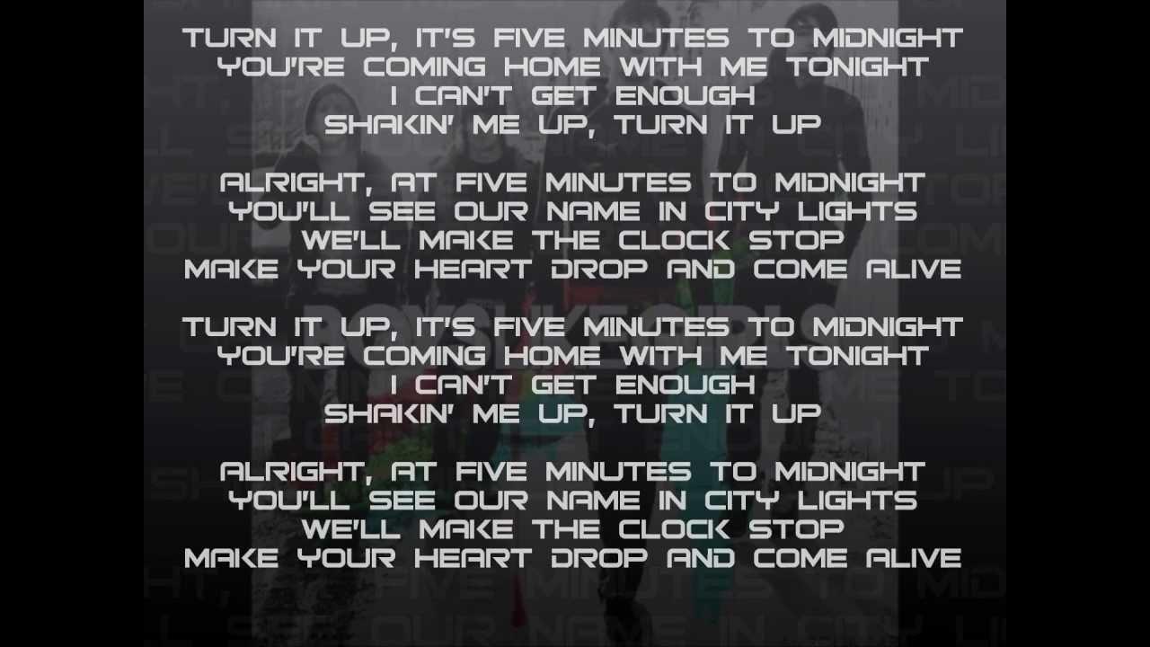 FGV – 5 Minutes 'Till Midnight Lyrics   Genius Lyrics