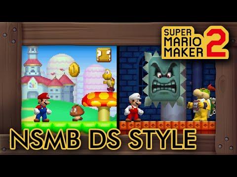 Mod Adds New Super Mario Bros. DS Style In Super Mario Maker 2