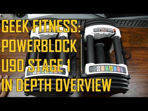 Geek Fitness: Powerblock U90 Stage 1 In Depth Overview