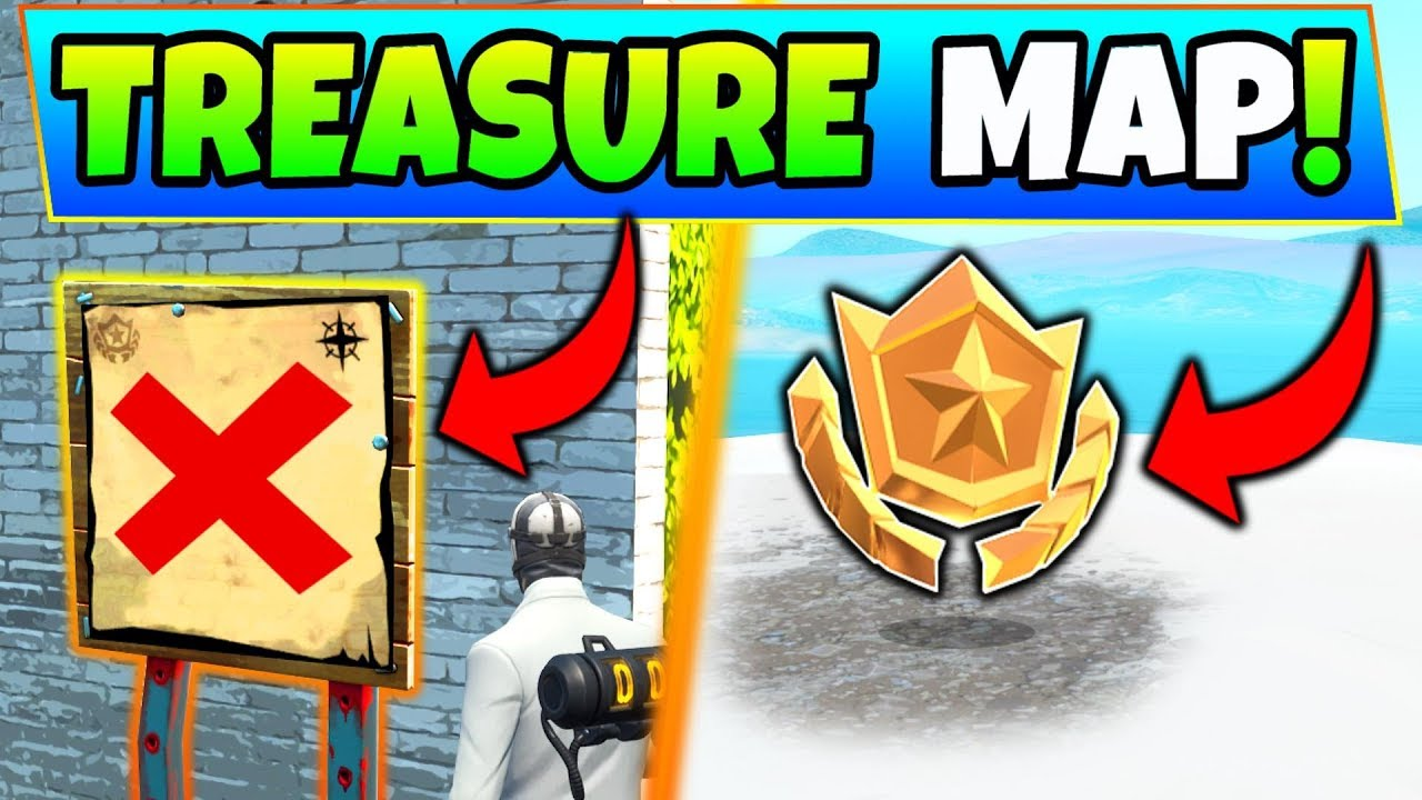 search the treasure map signpost found in paradise palms location in fortnite challenges - follow the treasure map singpost in paradise palms fortnite