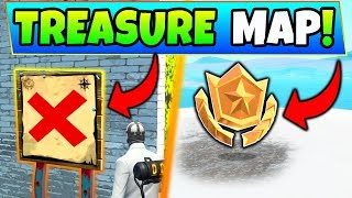Search the Treasure Map Signpost Found in Paradise Palms Location in Fortnite Challenges!