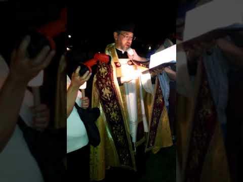 Exorcismo masivo en La Plata contra la acechanza del Maligno en Halloween