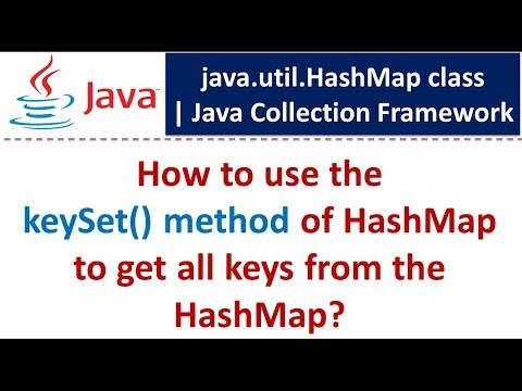 How To Use The KeySet() Method Of HashMap To Get All Keys From The HashMap?