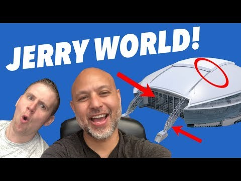 TOP FIVE REASONS to watch an NFL GAME from AT&T STADIUM (a VLOG)