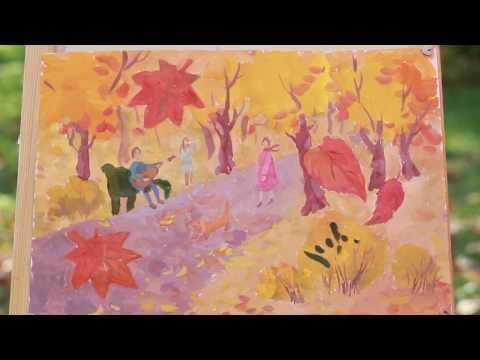 Песни 60-70х «Осенние листья» - текст и слова песни в